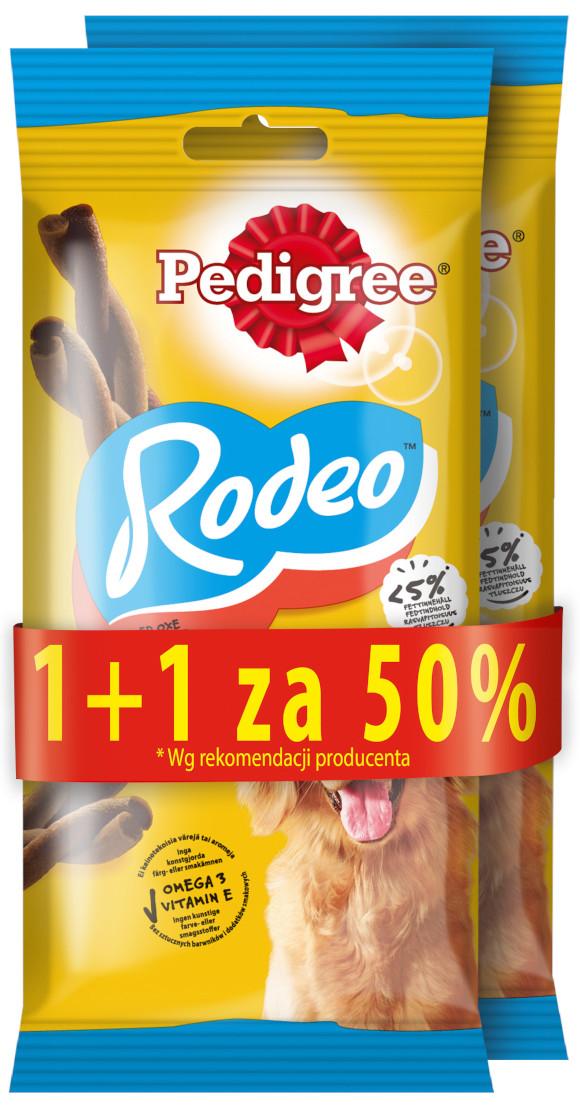 PEDIGREE RODEO 122g promocja 1+1 za pół ceny