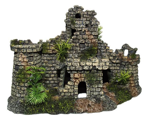 8595091746620 ruiny zamku ozdoba do akwarium
