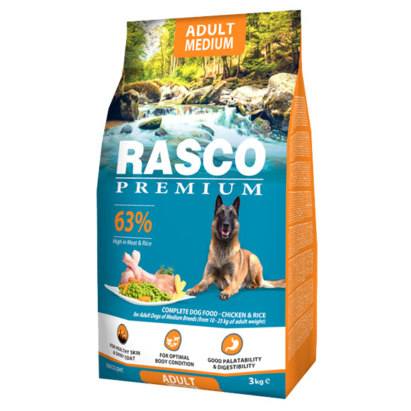 Rasco Premium Adult Medium karma dla psa 8595091799732
