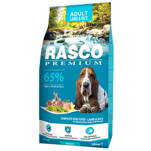 Rasco Premium Sensitive lamb & Rice karma dla psa 8595091799787