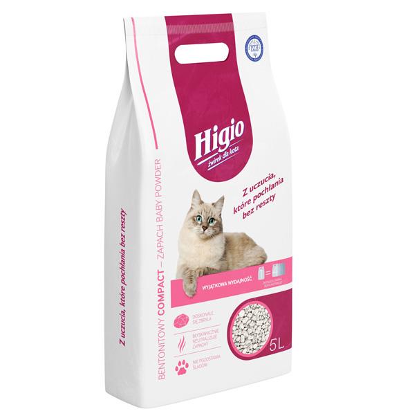 Higio żwirek bentonitowy dla kota