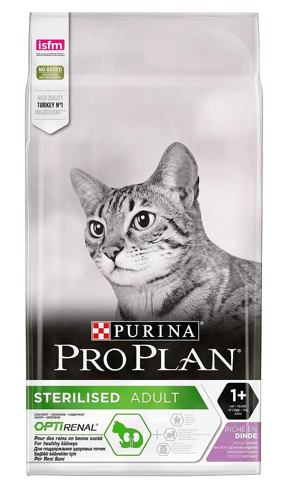 PRO PLAN CAT STERILISED Z INDYKIEM