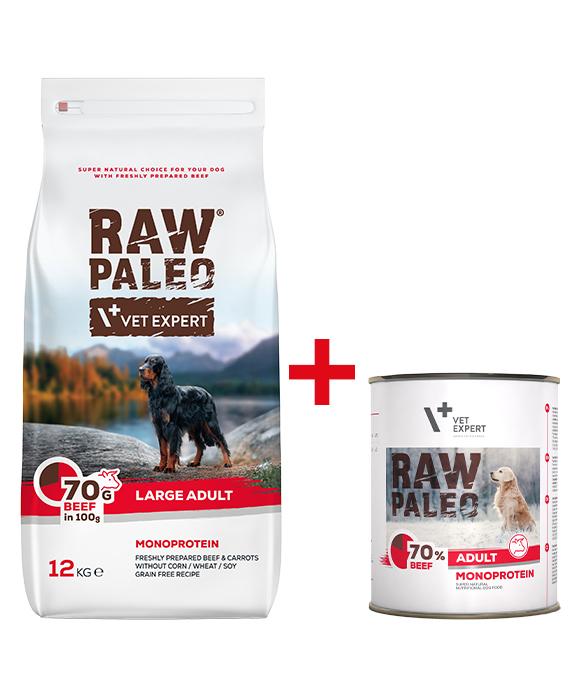 raw paleo sucha karma dla psa + puszka gratis