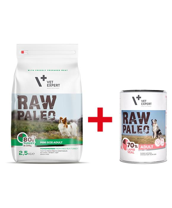 raw paleo karma dla psa