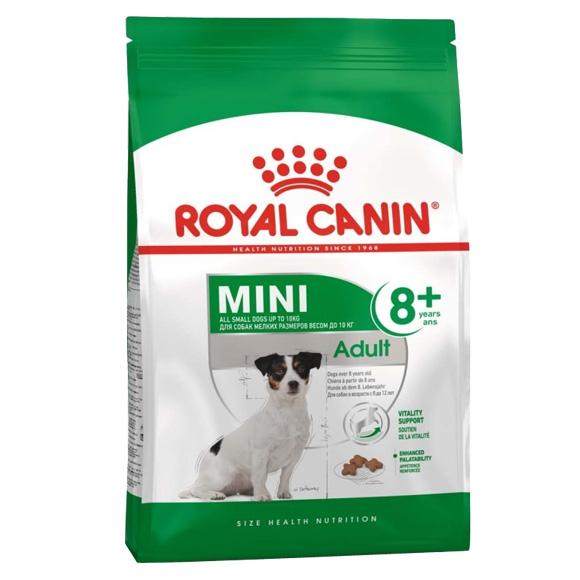 royal canin mini adult 8+ sucha karma dla psa