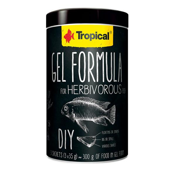 Tropical pokarm dla ryb, do samodzielnego przygotowaniu żelu