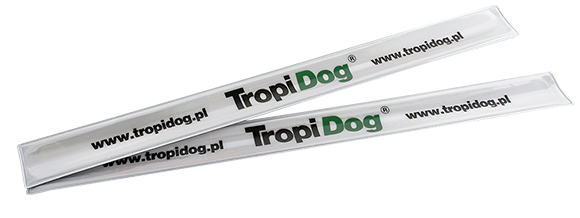 tropidog opaska odblaskowa gratis do karmy dla psa