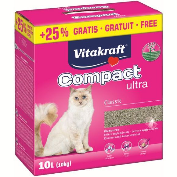 4008239893277  Vitakraft Compact Ultra żwirek dla kotów