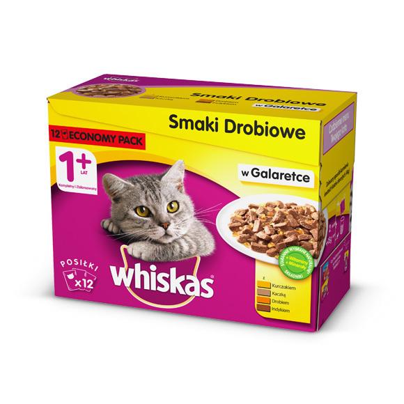 mokra karma Whiskas dla kota