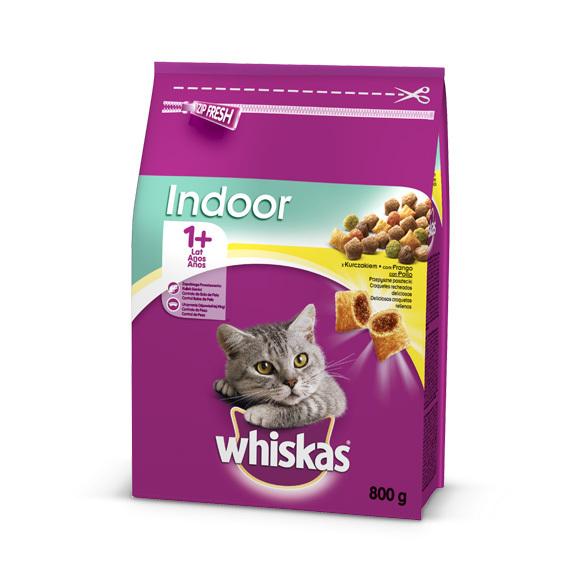 whiskas indoor sucha karma dla kota