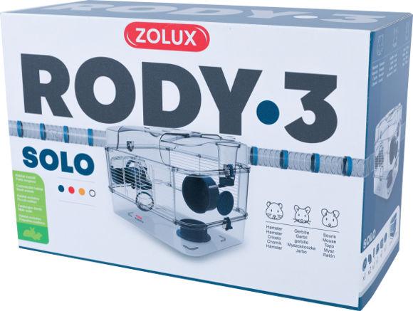Zolux Rody3 solo klatka dla chomika, myszki i myszoskoczka