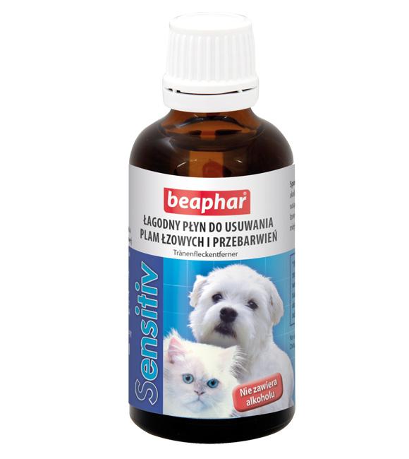 8711231171835 beaphar płyn do usuwania plam łzowych I przebarwień u psów, kotów i zwierząt futerkowych