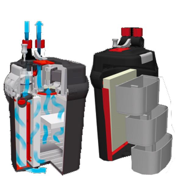 Fluval filtr do akwarium 015561102070