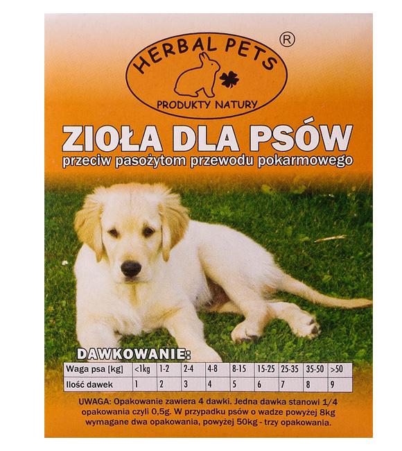 5907587664265  zioła przeciw pasożytom dla psów