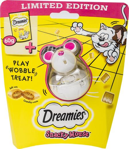 dreamies w zestawie z zabawka