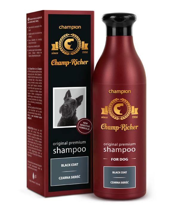 5901742070731 CHAMP RICHER szampon dla psa siesc czarna