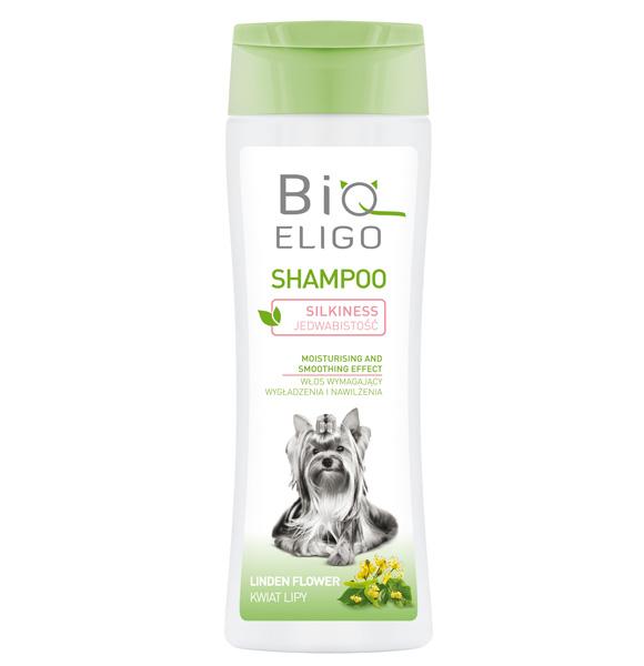 BioEligo szampon dla psa do włosów wymagających wygładzenia i nawilżenia