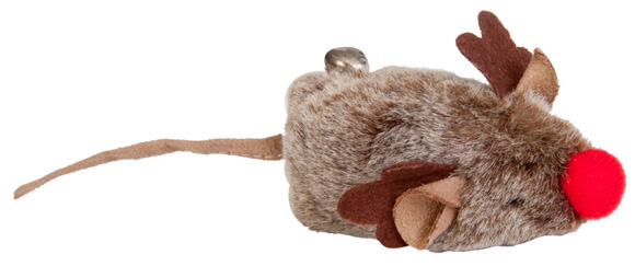 5904760213357 dingo myszka swiatecza zabawka dla kota