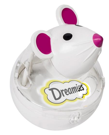 dreamies myszka zabawka dla kota