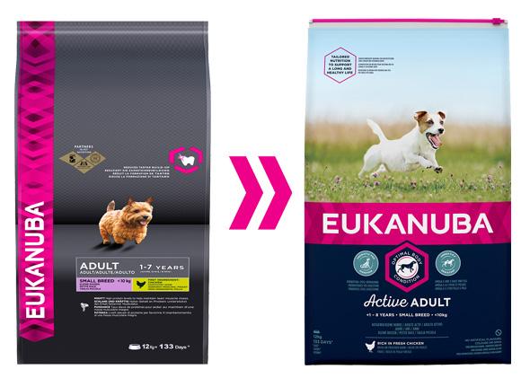 Eukanuba dla dorosłych psów ras małych