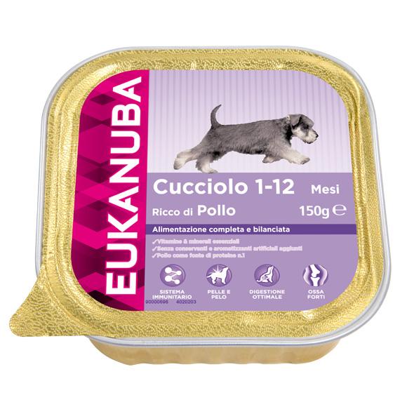 eukanuba mokra karma dla szczeniaka