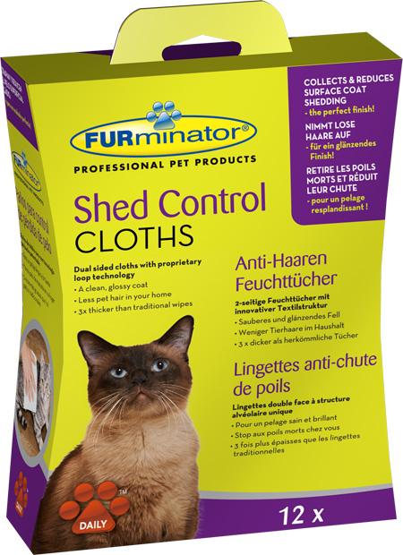 furminator chusteczki dla kota