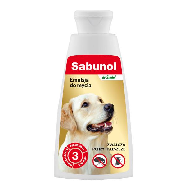 sabunol emulsja na pchly i kleszcze do mycia psa