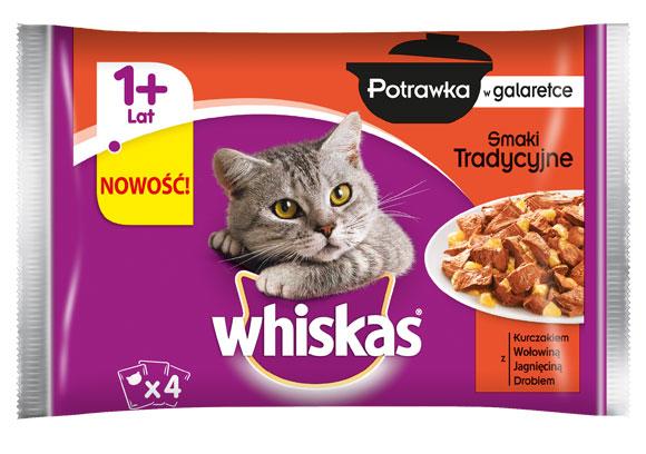 Whiskas potrawka dla kota gratis do karmy Sheba