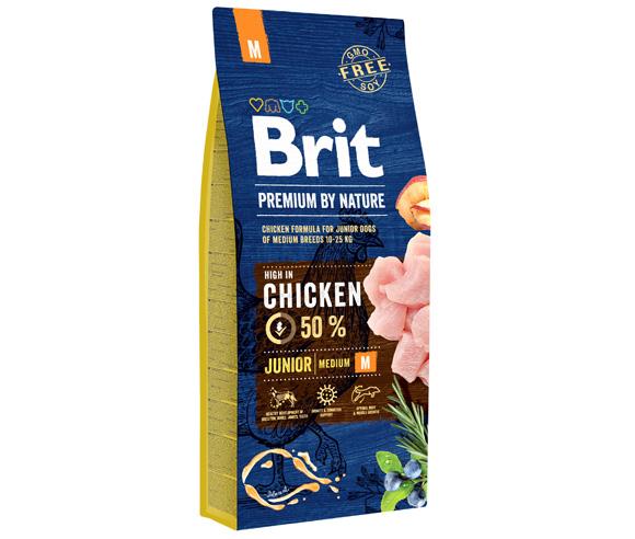 brit premium by nature junior medium karma dla szczeniąt ras średnich