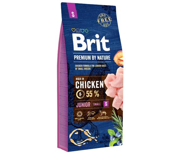 brit premium by nature junior small karma dla szczeniąt ras małych