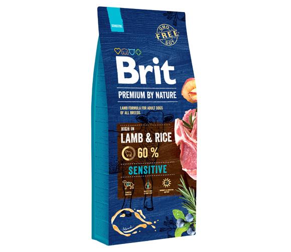 brit premium by nature sensitive lambe karma dla wrażliwych psów