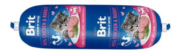 brit sausage cat mięsny baton dla kota