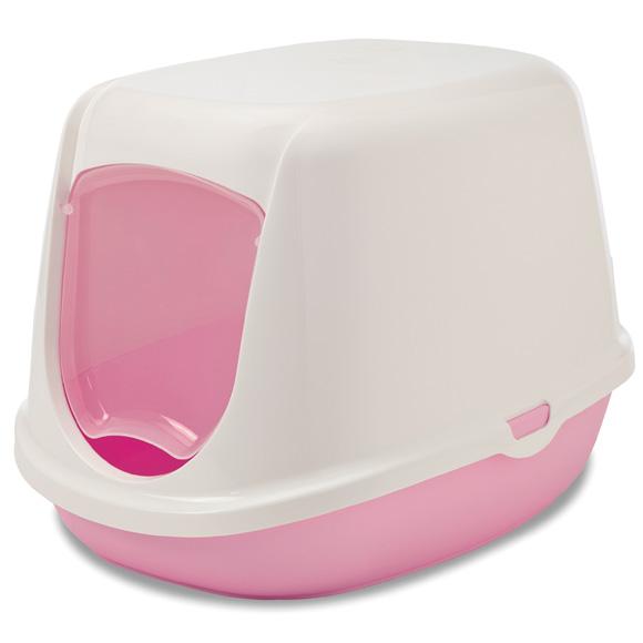savic Duchenne różowa kuweta dla małego kota