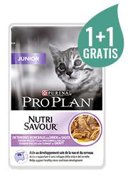PRO PLAN CAT NUTRISAVOUR JUNIOR 85g+85g gratis