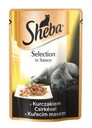 SHEBA SELECTION DLA KOTA - z kurczakiem w sosie