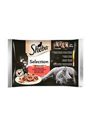 SHEBA SELECTION DLA KOTA soczyste smaki w sosie