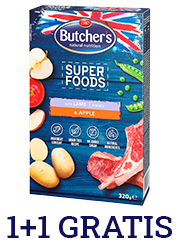BUTCHERS SUPER FOODS PRZYSMAK DLA PSA z jagnięciną i jabłkiem