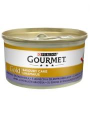 GOURMET GOLD SAVOUR CAKE KARMA DLA KOTA z jagnięciną i zieloną fasolką