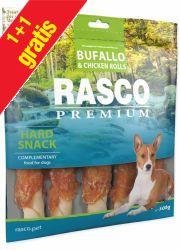 RASCO PREMIUM HARD SNACK BUFFALO / CHICKEN ROLLS przysmaki dla psa