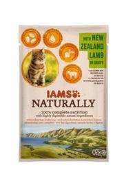 IAMS CAT NATURALLY MOKRA KARMA DLA KOTA - z jagnięciną nowozelandzką