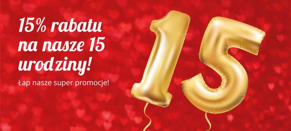 15_urodziny_Telekarmy_15%_rabatu