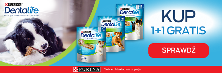 Purina Dentalife 1+1 strona kategorii