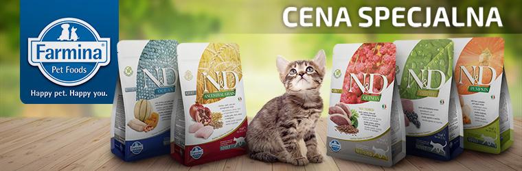 Farmina - super cena - karma sucha dla kota - strona kategorii