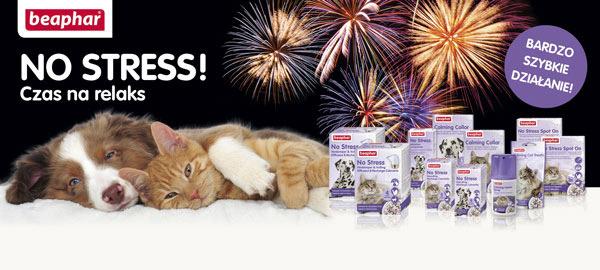 Beaphar No Stress produkty uspokajajace dla psa i kota