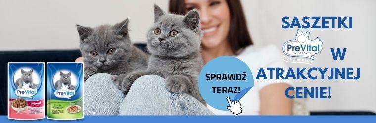 Prevital - saszetki dla kota - strona kategorii