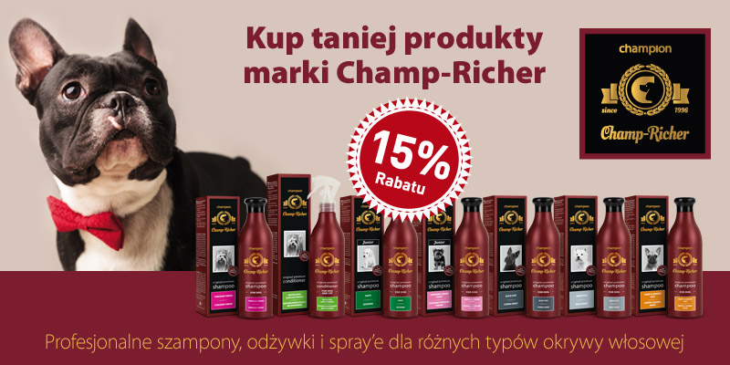 Szampony Champ-Richer -15proc