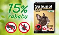 Sabunol obroża dla psa - baner boczny