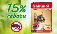 Sabunol obroża dla kota - baner boczny