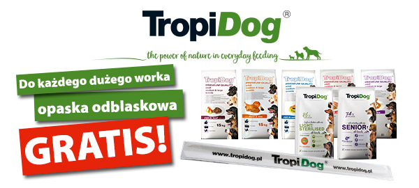 tropidog_karma_gratis_opaska_odblaskowa