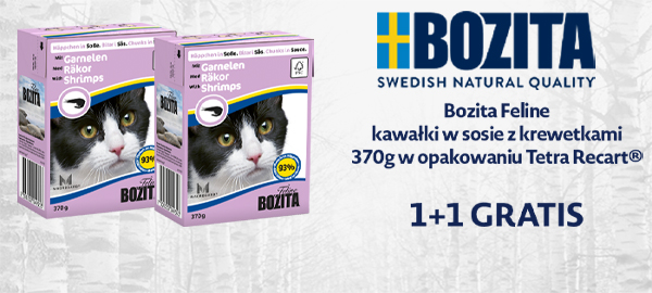 bozita feline 1+1 gratis